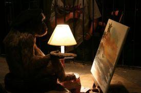 monkey-artist