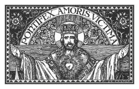 pontifex amoris victima - christ king