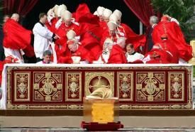 windswept cardinals vatican 2