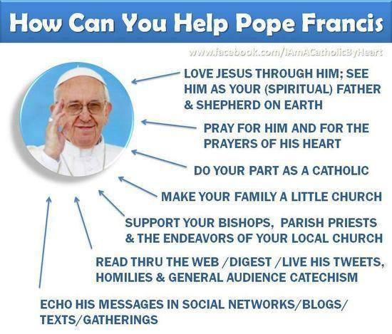Help Pope Francis