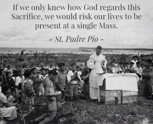 padre pio single mass
