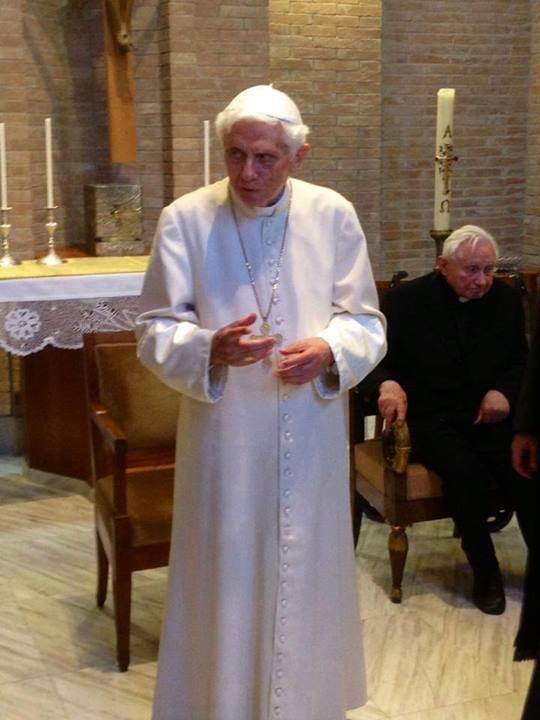 Benedict lectures in Russicum 2