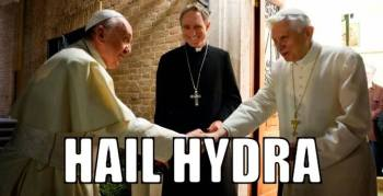 Hail Hydra two popes