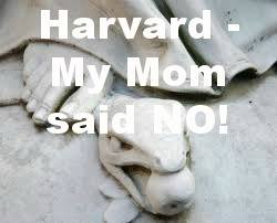 Harvard serpent Mom No