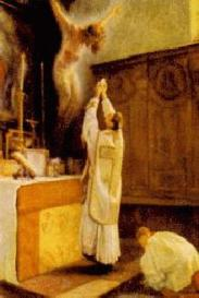 Christ altar priest