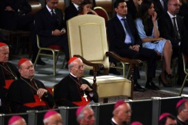 Pope Francis Attends The Year of Faith Concert