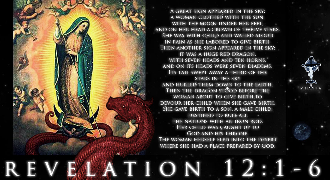 revelation 12 1 thru 6 woman clothed with the sun